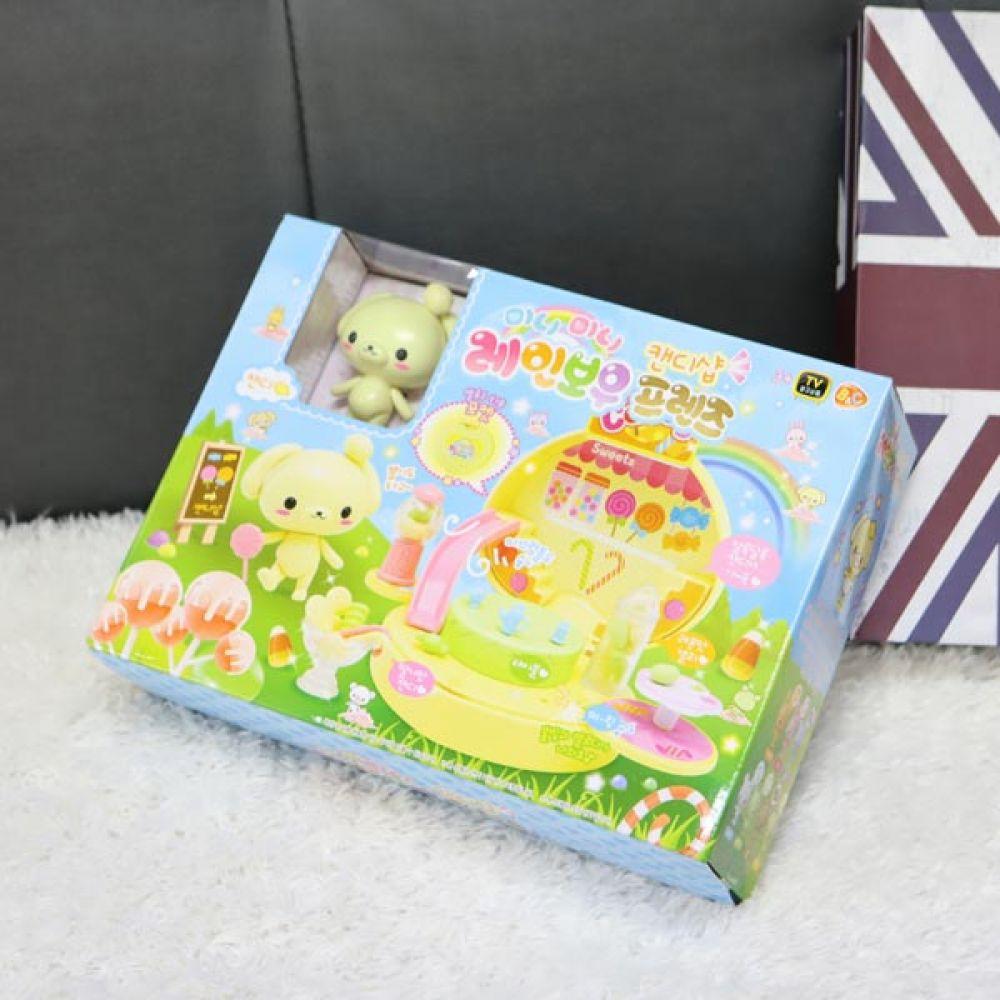 레인보우프렌즈 캔디샵 유아장난감 역할놀이 역할놀이 어린이선물 유아장난감 소꿉놀이 캐릭터인형
