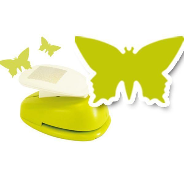 모양펀치 R-65(펀칭규격65mm이내) 038 나비 모양펀치 미니펀칭기 펀치 모양만들기 공예