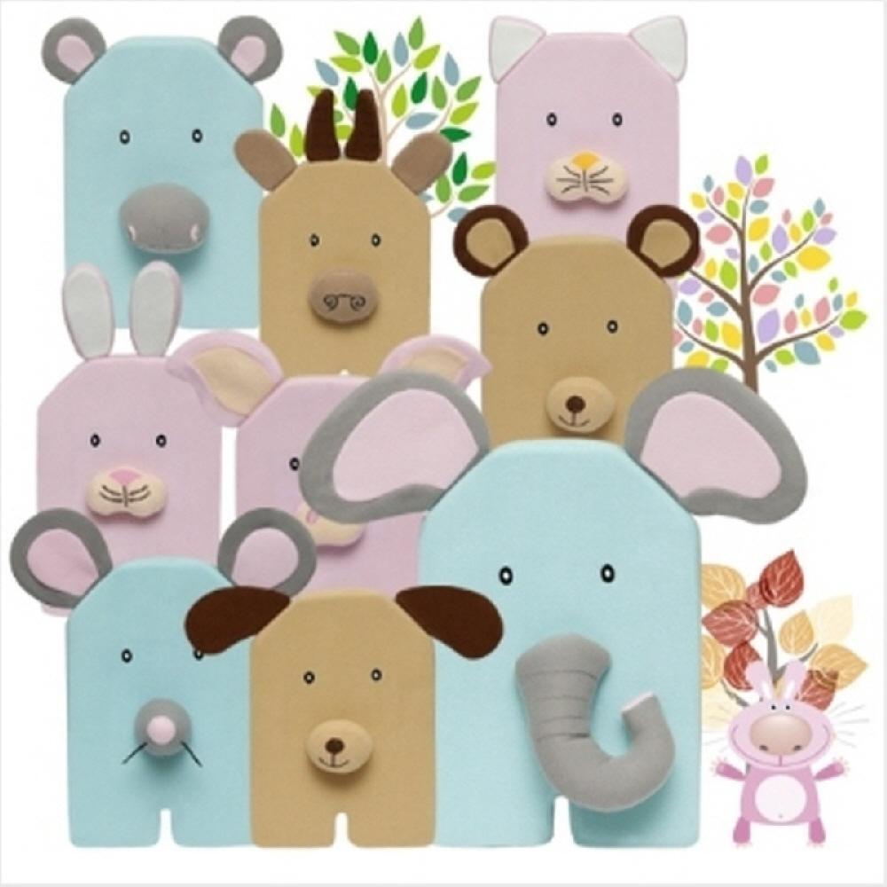 놀이 유아원 어린이집 교구 동물 자석 퍼즐세트 아이 교구 헝겊교구 완구 어린이집 유아원