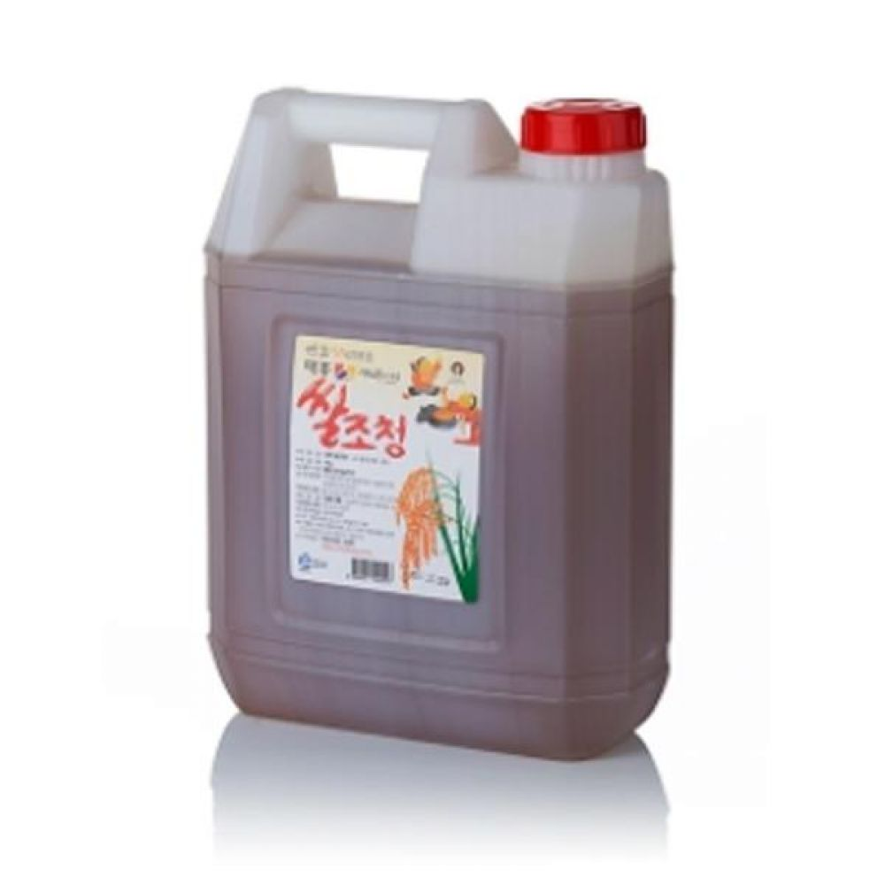 쌀조청 9kg 농도가 낮아 조리 시 편리한 조청 꿀 물엿 청 전통 식품