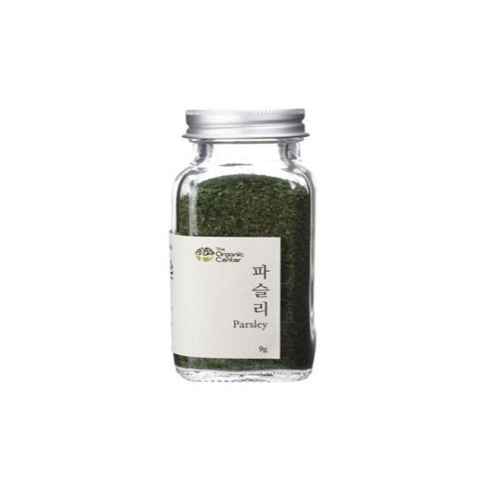 (오가닉 향신료)프랑스산 건파슬리 30g 건강 고기 조미료 냄새 채소