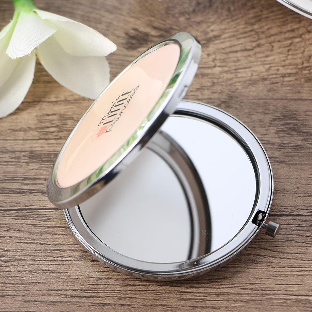 리틀핑크 원형 양면 손거울 양면거울 팬시손거울 팬시손거울 미니거울 미니손거울 휴대용거울 양면거울