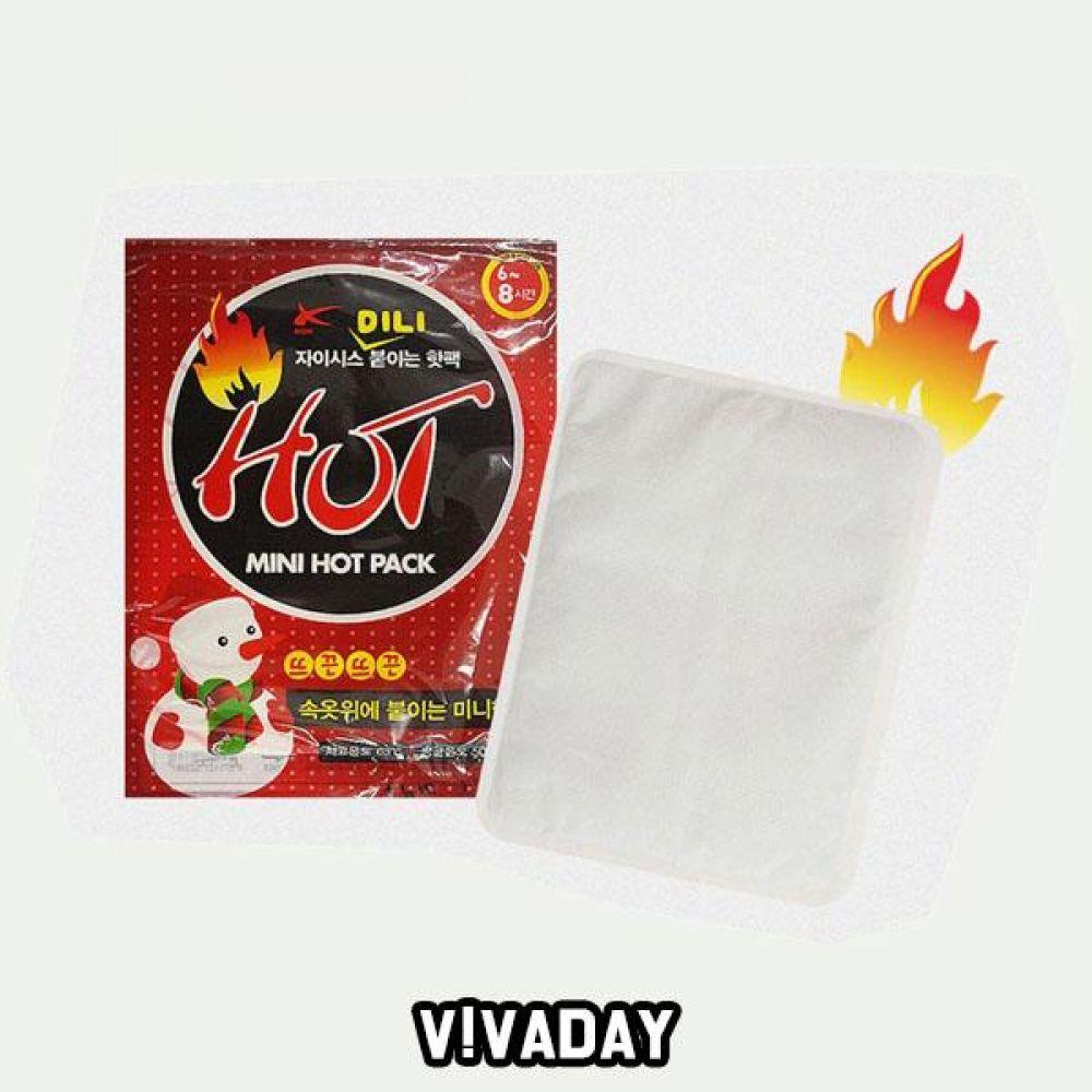 MY 붙이는 핫팩 미니 10개 방한용품 겨울용품 겨울 추위 강추위 핫팩 핫팩주머니 찜질팩 온열팩