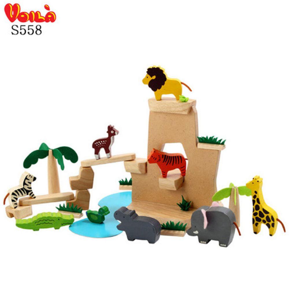 야생동물 사파리 S558 동물완구 장난감 동물모형 학습완구 동물모형 장난감 동물완구 동물학습
