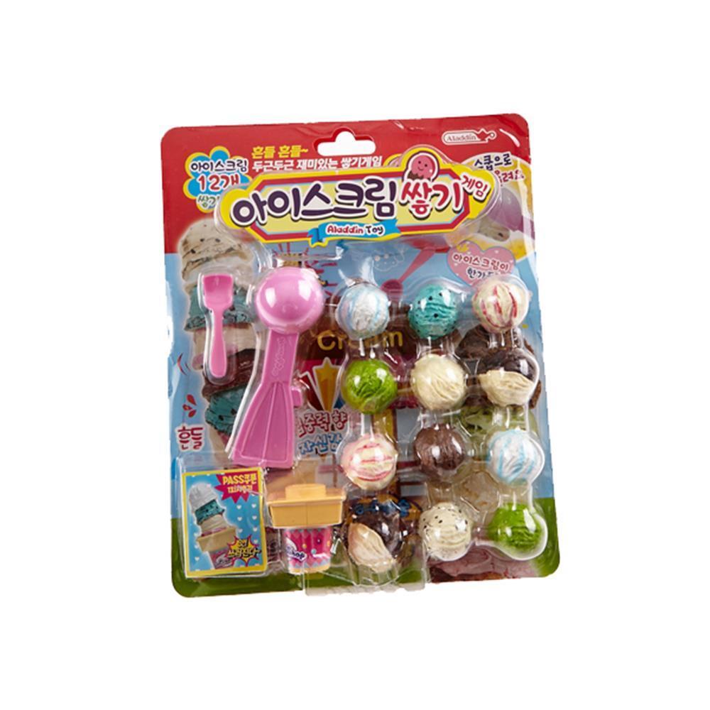 아이스크림 쌓기게임 인형놀이 장난감 캐릭터완구 인형놀이 유아장난감 유아캐릭터 아동케릭터 완구