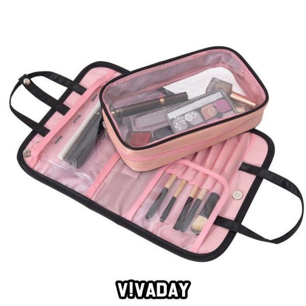 MON-A19 파우치 수납 화장품 액세서리 파우치 여성화장품파우치 화장품파우치 가방 가방파우치 수납 화장품수납 미용 생활잡화
