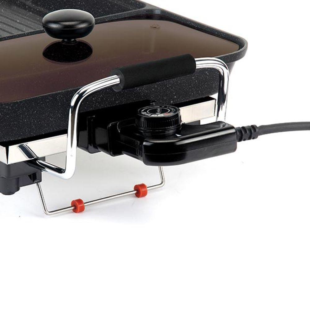 와이드 그릴 LSG-2458G 가방유 구이판 고기불판 구이판 바베큐그릴 고기불판 전기그릴 그릴