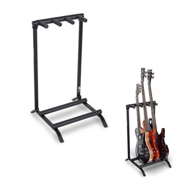 멀티 기타스탠드 3단 Electric/ Bass용 거치대 20880 기타거치대 기타받침대 기타걸이 통기타받침대 통기타거치대 일렉스탠드 통기타스탠드 기타용거치대 베이스스탠드 일렉기타거치대