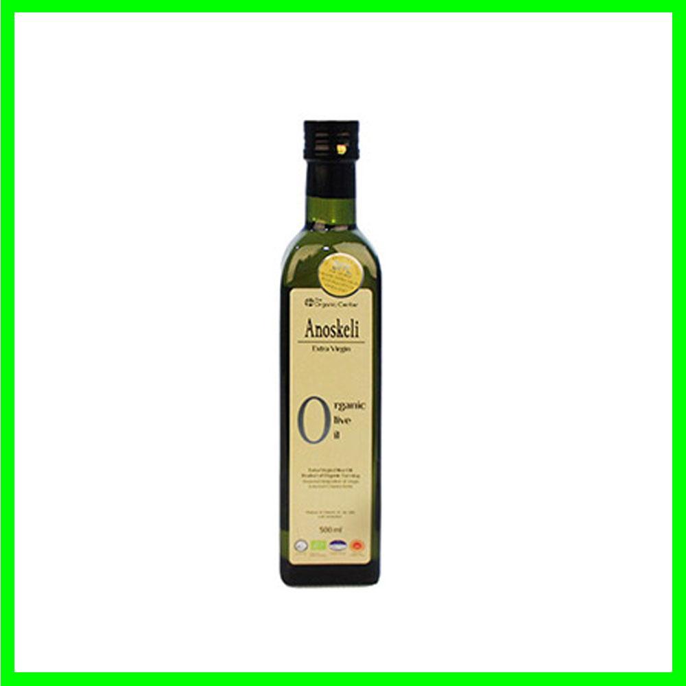 (그리스 직수입)아노스켈리 압착 유기농 올리브오일 500ml 건강 올리브 기름 오일 견과류