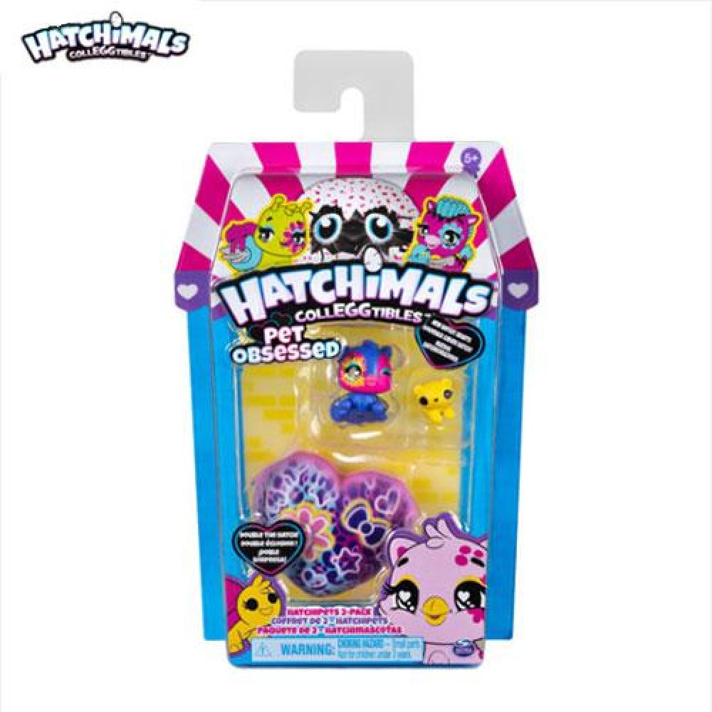밤나무 해치멀 컬에그터블 S7 HatchiPets 2Pack(6054180)-임의배송 장난감 완구 토이 남아 여아 유아 선물 어린이집 유치원
