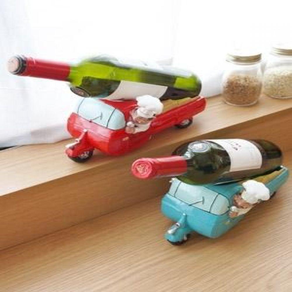 덴마크 와인 카 (레드.스카이) 주방용품 주방소품 인테리어소품 와인거치대 장식소품