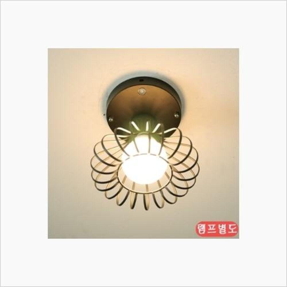 인테리어 조명기구 하프 1등 센서등 블랙 철물용품 인테리어조명 벽등 직부등 센서등 조명 전구 램프 백열등기구