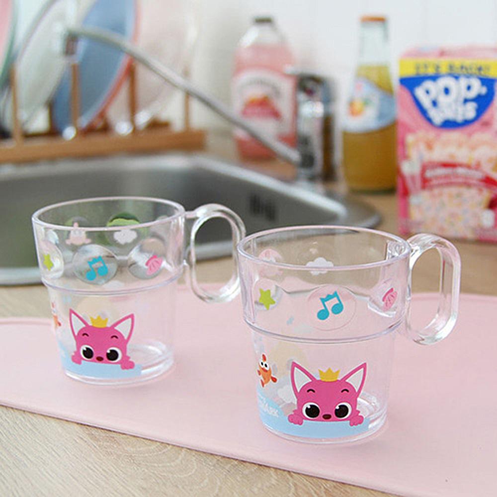 핑크퐁 도트 치카컵 핑크퐁 아기상어 유아선물 아기선물 아이선물 욕실용품 캐릭터욕실용품 아동욕실용품 아기욕조 유아목욕