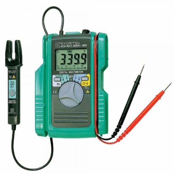 교리쯔 디지털 테스터(클램프겸용) 4160656 디지털테스터 클램프 클램프테스터 측정공구 측정