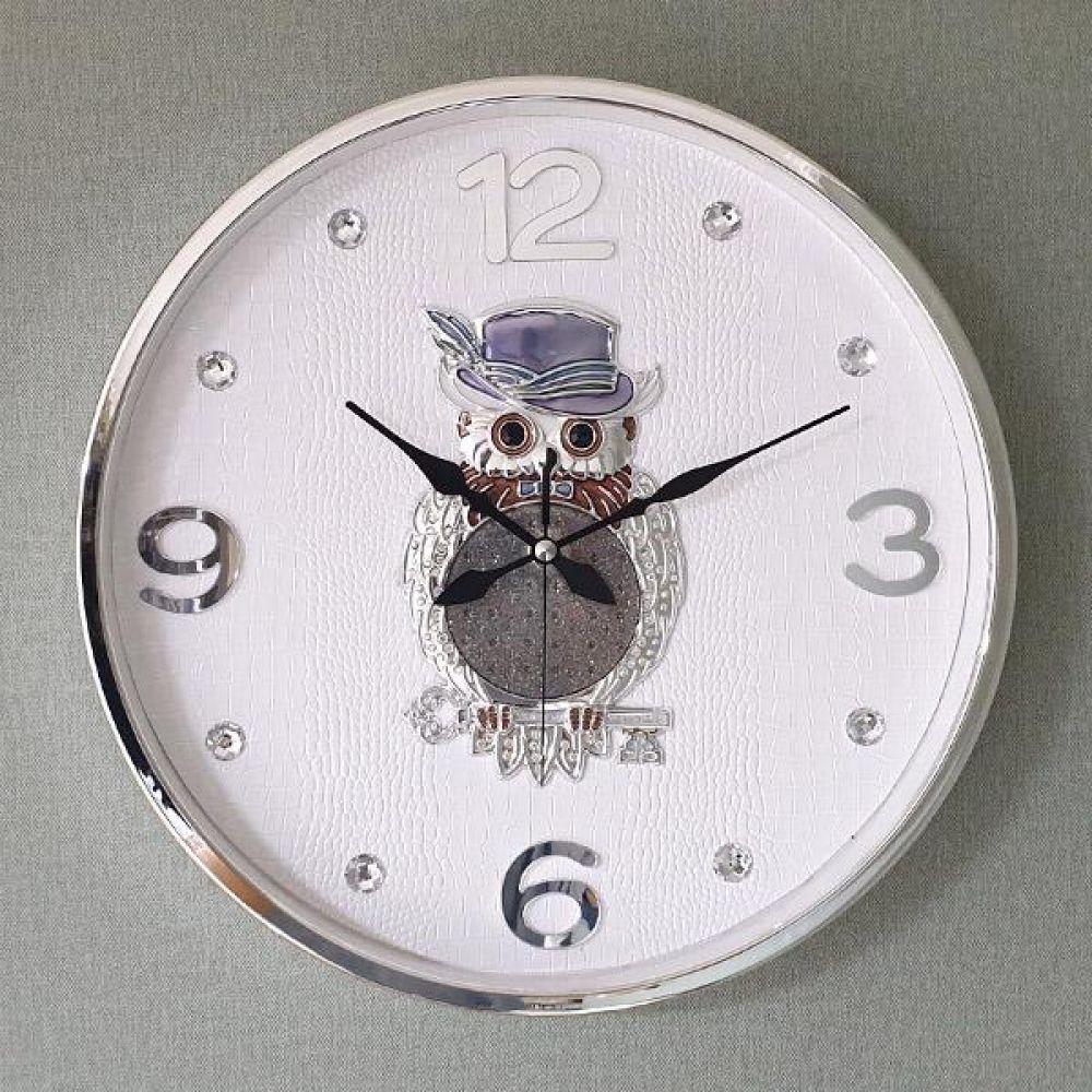 행운열쇠 부엉이 SE 무소음 벽시계 벽시계 벽걸이시계 인테리어벽시계 예쁜벽시계 인테리어소품
