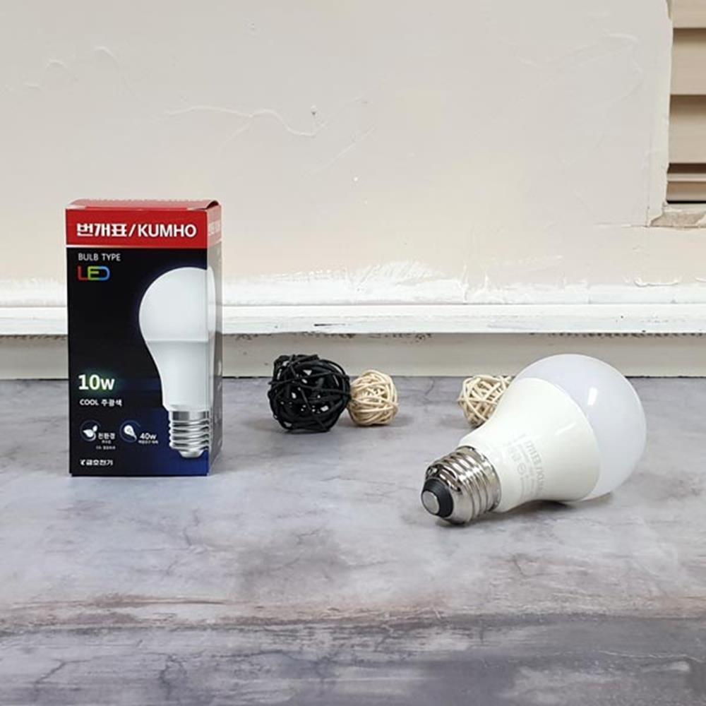 LED전구 주광색 10W 생활조명 생활용품 형광등 거실등 전구 생활조명 거실등 형광등 LED등