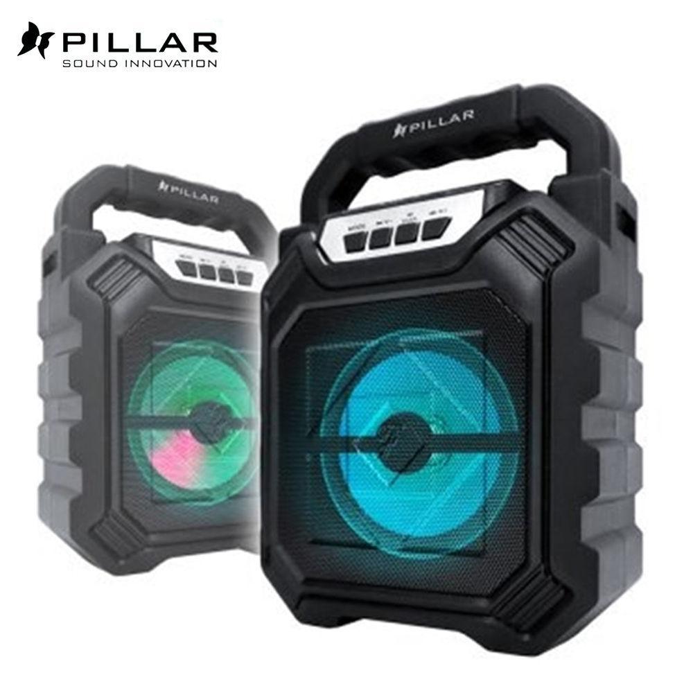 PILLAR 블루투스 아웃도어 무선 스피커 (BT-D13) 휴대용 미니 스피커 무선 블루투스