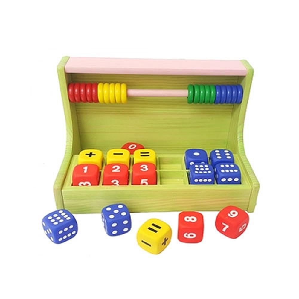 놀이판 유아 장난감 소프트 아이 셈놀이 3단계 원목 퍼즐 블록 블럭 장난감 유아블럭