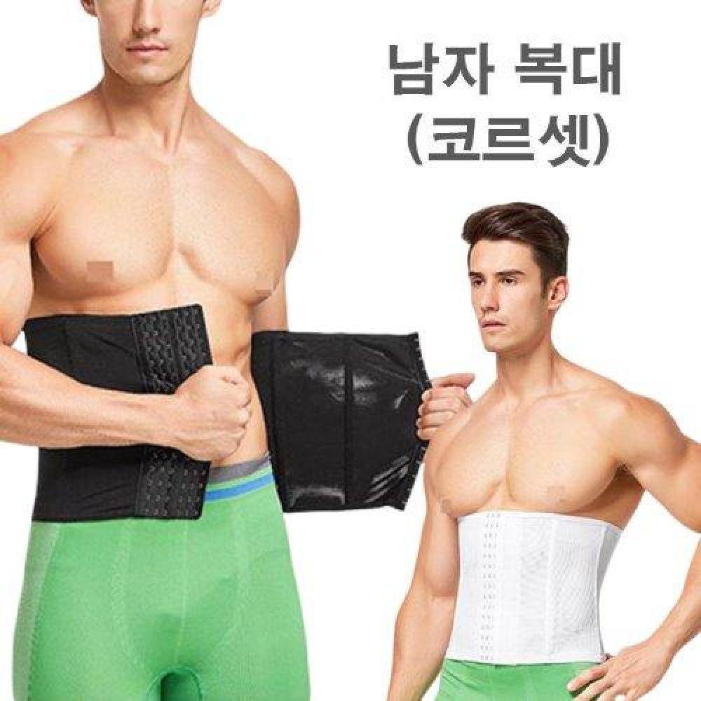 복부 압박 뱃살 타파 6단 남자 복대 LED-198 남성속옷 이너웨어 보정속옷 남자속옷 나시