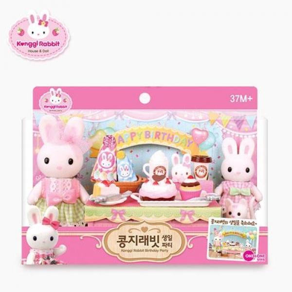 원앤원 콩지래빗 생일파티(94774) 장난감 완구 토이 남아 여아 유아 선물 어린이집 유치원
