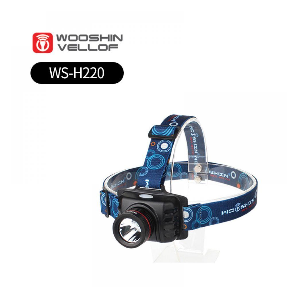 충전식헤드렌턴 WS-H220 - 파워LED 5핀충전 4모드조작 각도조절 아웃도어 라이딩 캠핑 등산 낚시 깜빡이 손전등 헤드랜턴 캠핑랜턴 손전등 랜턴 LED랜턴 충전식 충전식랜턴 건전지랜턴 배터리랜턴