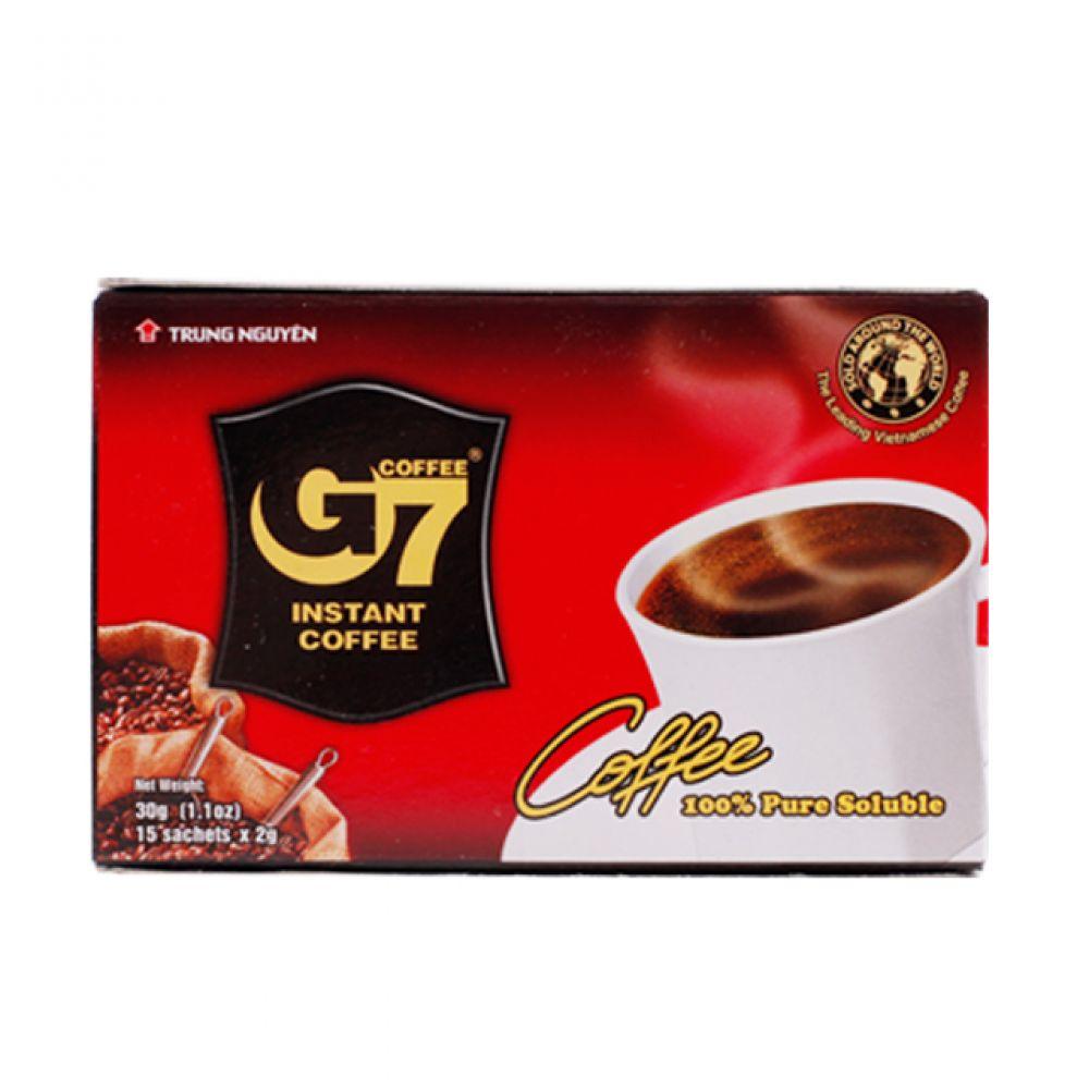 베트남 G7 블랙커피 30g