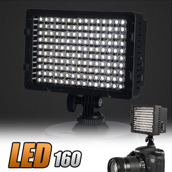 호루스벤누 LED-160 플래시라이트 비디오/영상촬영 카메라조명 룩스라이트 룩스패드 촬영조명 영상촬영