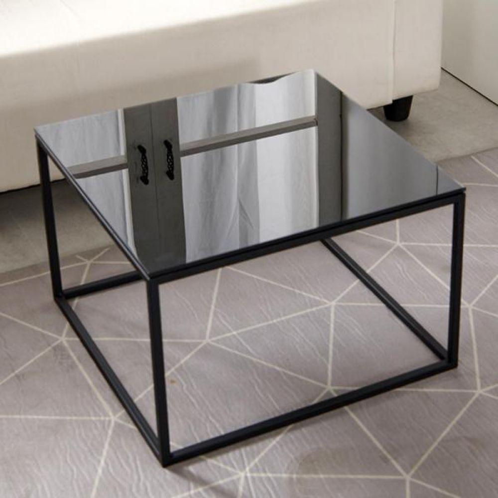 하우스틸 철제 강화유리 거실 테이블 550 테이블 다용도상 거실테이블 티이블 미니테이블