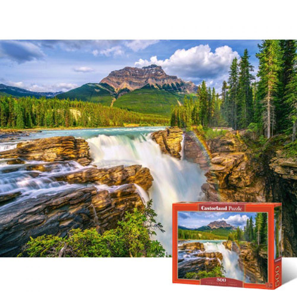 500피스 직소퍼즐 - 캐나다 선왑타폭포 (LD53117) 직소퍼즐 퍼즐 퍼즐직소 일러스트퍼즐 취미퍼즐