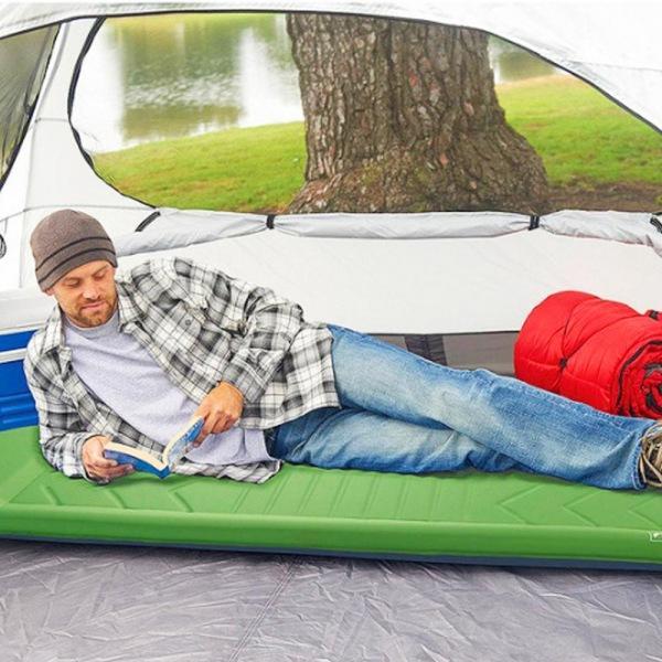 라이트스피드 야외용 자동 공기충전식 매트 캠핑용품 캠핑소품 캠핑매트 캠핑에어매트 피크닉매트