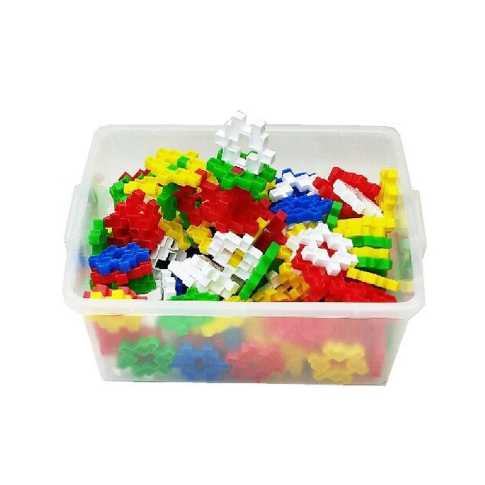 선물 유아 만들기 장난감 블록 왕사각 블럭 리빙 박스 퍼즐 블록 블럭 장난감 유아블럭