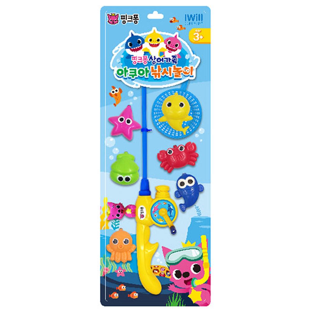 핑크퐁 상어가족 아쿠아 낚시놀이 낚시놀이 어린이낚시 아쿠아낚시 유아낚시놀이 장난감 아기장난감 아기선물 유아장난감 애기선물 어린이장난감