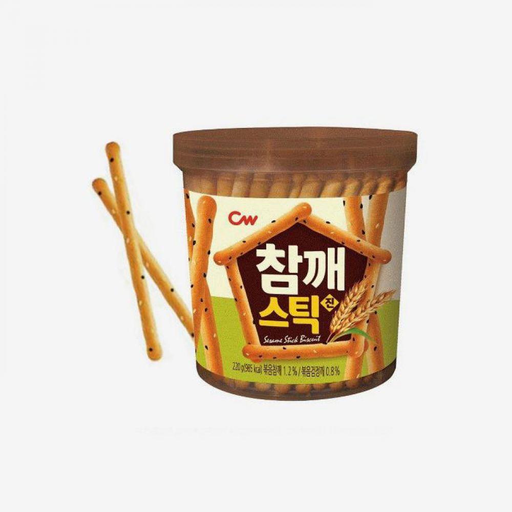 청우 비스켓 참깨 스틱 220g 1박스 청우식품 간식 주전부리 스낵 과자 캔디 비스켓 참깨스틱