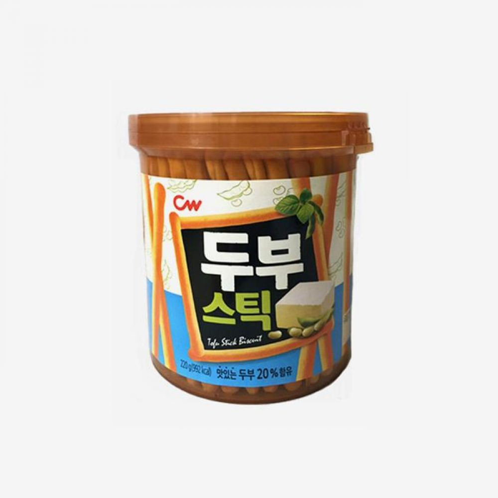청우 비스켓 두부 스틱 220g 1개 청우식품 간식 주전부리 스낵 과자 캔디 비스켓 두부스틱