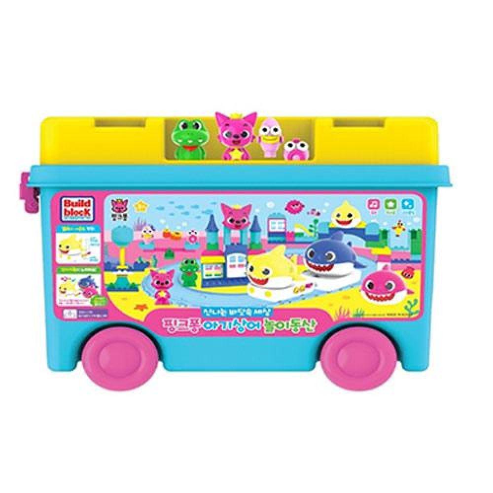 주영 핑크퐁 아기상어 놀이동산블럭(79331) 장난감 완구 토이 남아 여아 유아 선물 어린이집 유치원