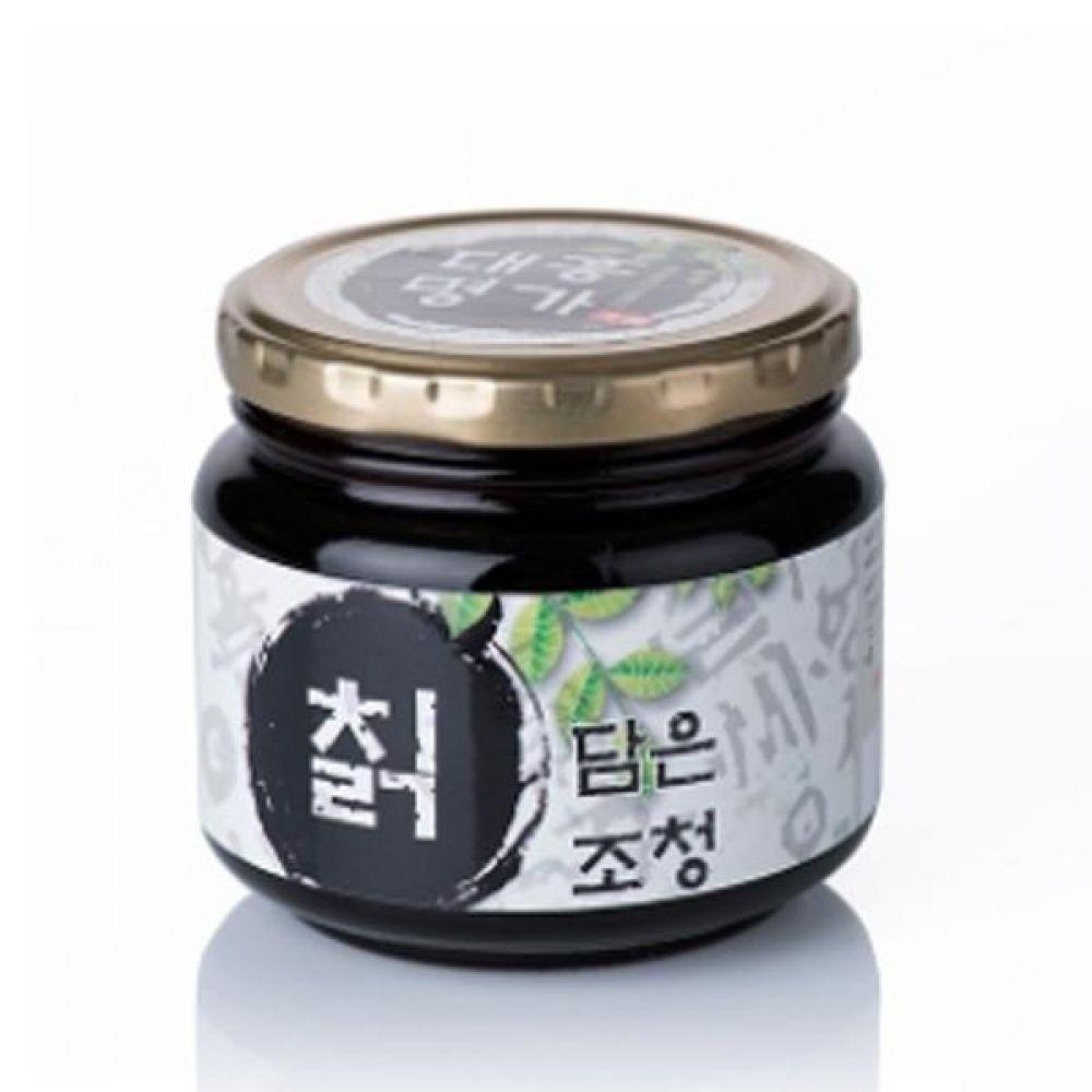 칡담은조청 500g  자연산 칡으로 만든 맛있고 영양많은 조청 꿀 물엿 청 전통 식품