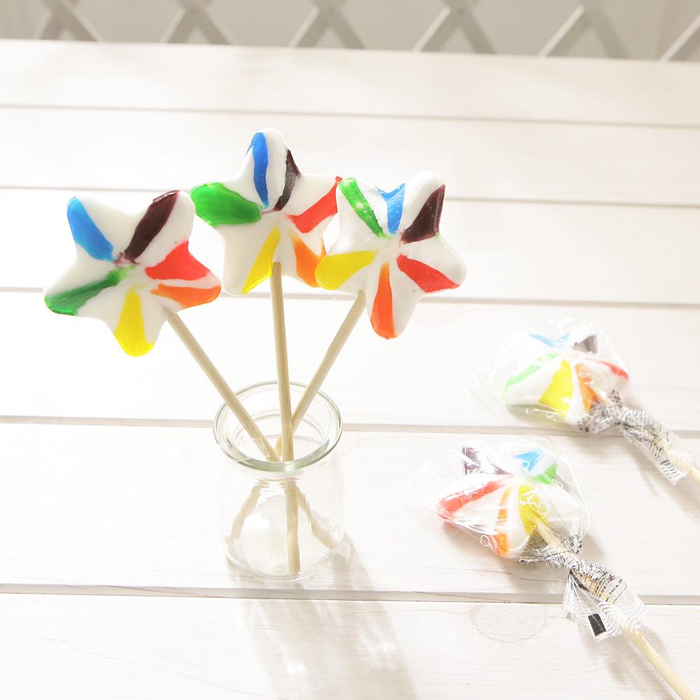 별모양막대사탕(10개) 할로윈 사탕 선물 스틱 캔디 간식 어린이날 유치원선물 어린이날선물 막대사탕 사탕 캔디 츄파춥스 간식 장난감 화이트데이