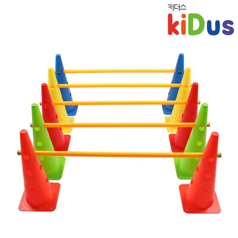 키더스 허들콘 시스템 48cm(풀세트) 유아체육 학교 유치원 어린이집 축구 접시콘 칼라콘 라바콘 꼬깔콘 안전용품