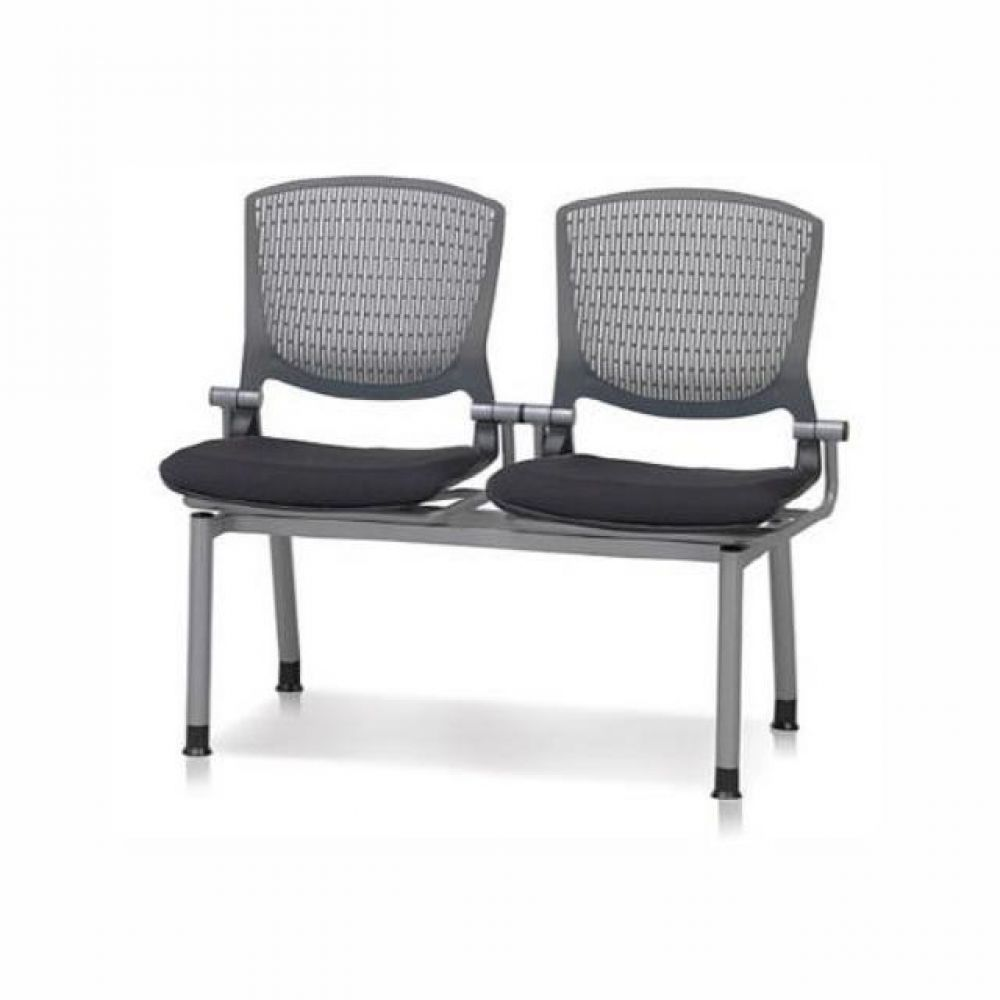 2인용 연결의자 팔무(사출-쿠션) 623 로비의자 휴게실의자 대기실의자 장의자 3인용의자 2인용의자 약국의자 대합실의자