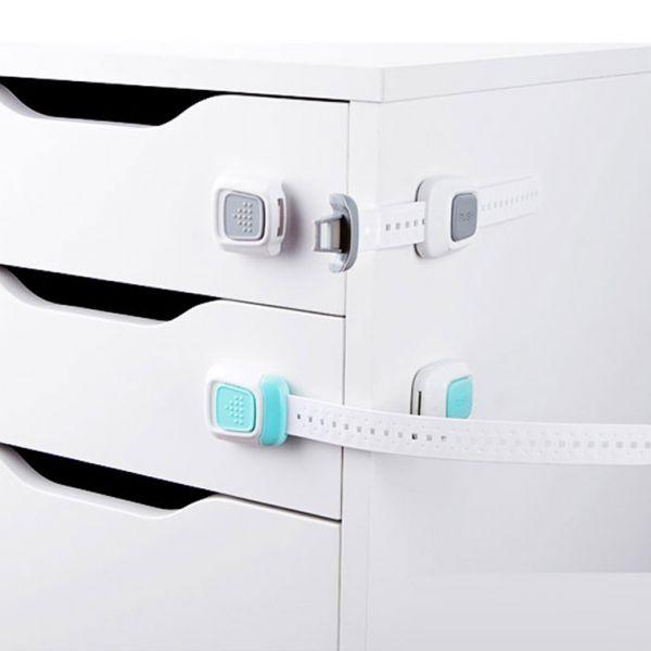 MWSHOP 길이조절 창문 냉장고 서랍 안전 잠금장치 엠더블유샵