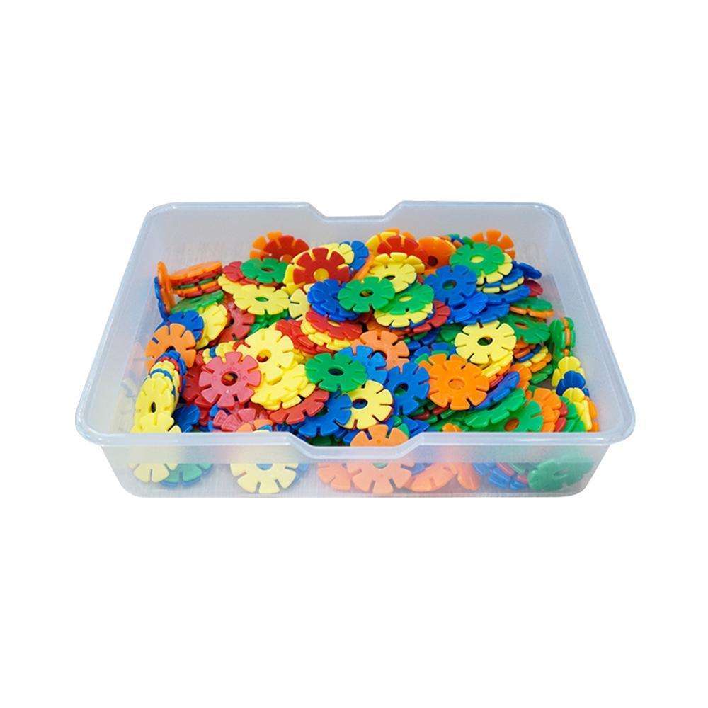 선물 유아 만들기 장난감 블록 미니 꽃잎 블럭 바구니 퍼즐 블록 블럭 장난감 유아블럭