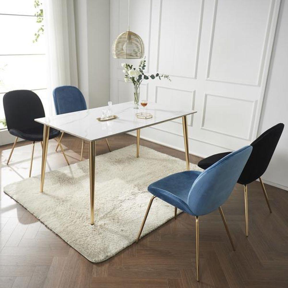 심플라인 세라믹 골드 식탁 세트 1800 테이블 다용도상 거실테이블 티이블 미니테이블