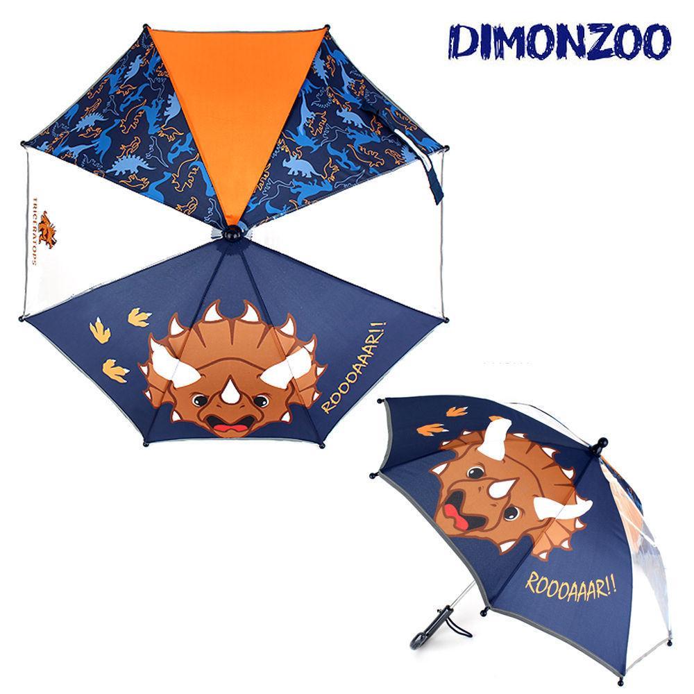 윙하우스 다이몬쥬 트리케라톱스 우산 40 어린이 우산 아동우산 아동 캐릭터