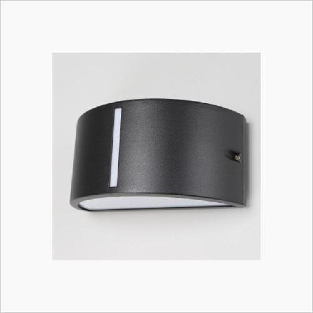 인테리어 조명기구 A63 타원 벽등 블랙 철물용품 인테리어조명 벽등 직부등 센서등 조명 전구 램프 백열등기구