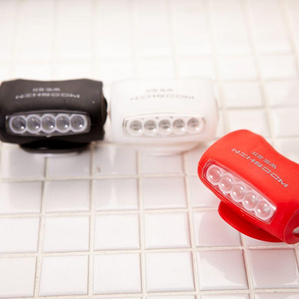 경량 7구 실리콘 LED 자전거 랜덤발송 안전등 조명 등 자전거등 전등 조명 등 안전등