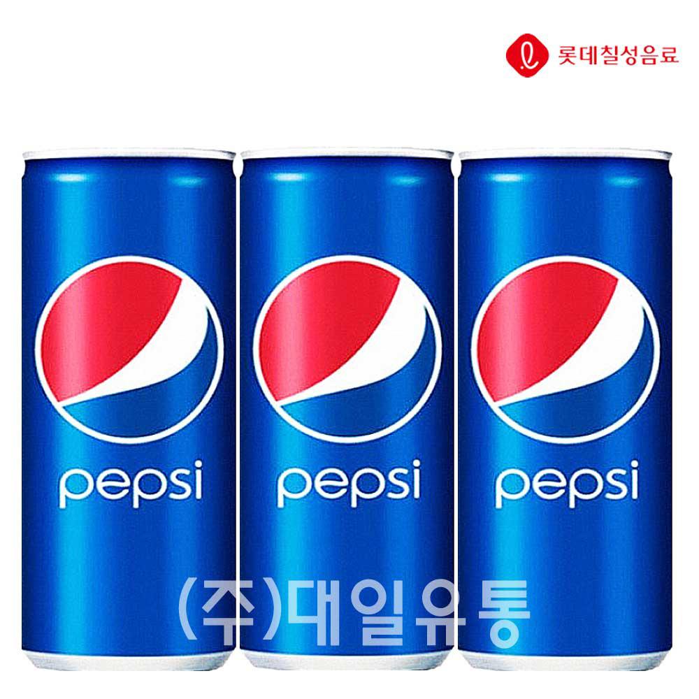 펩시콜라 캔 250ml X 30개 탄산음료 탄산음료 펩시콜라 콜라 펩시 음료수