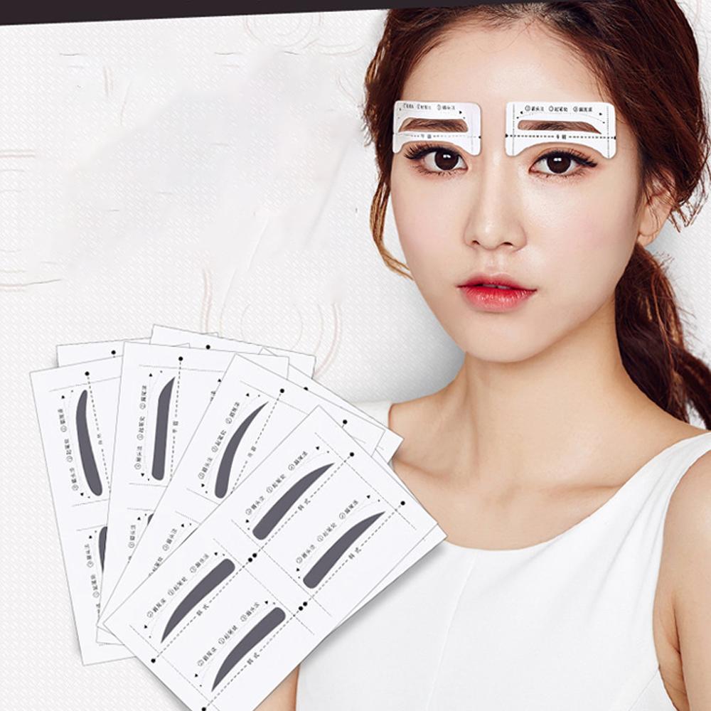 눈썹 모양 틀 가이드 그리기 4종(HM0192) 눈썹그리는법 일자눈썹그리기 남자눈썹그리기 눈썹모양 눈썹그리기 눈썹다듬기 눈썹틀 일자눈썹 갈매기눈썹 눈썹문신 눈썹가이드 눈섭