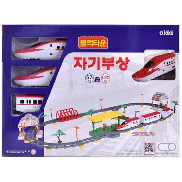 (2018)아이다 블럭타운 뉴 자기부상열차(74205) 장난감 완구 토이 남아 여아 유아 선물 어린이집 유치원