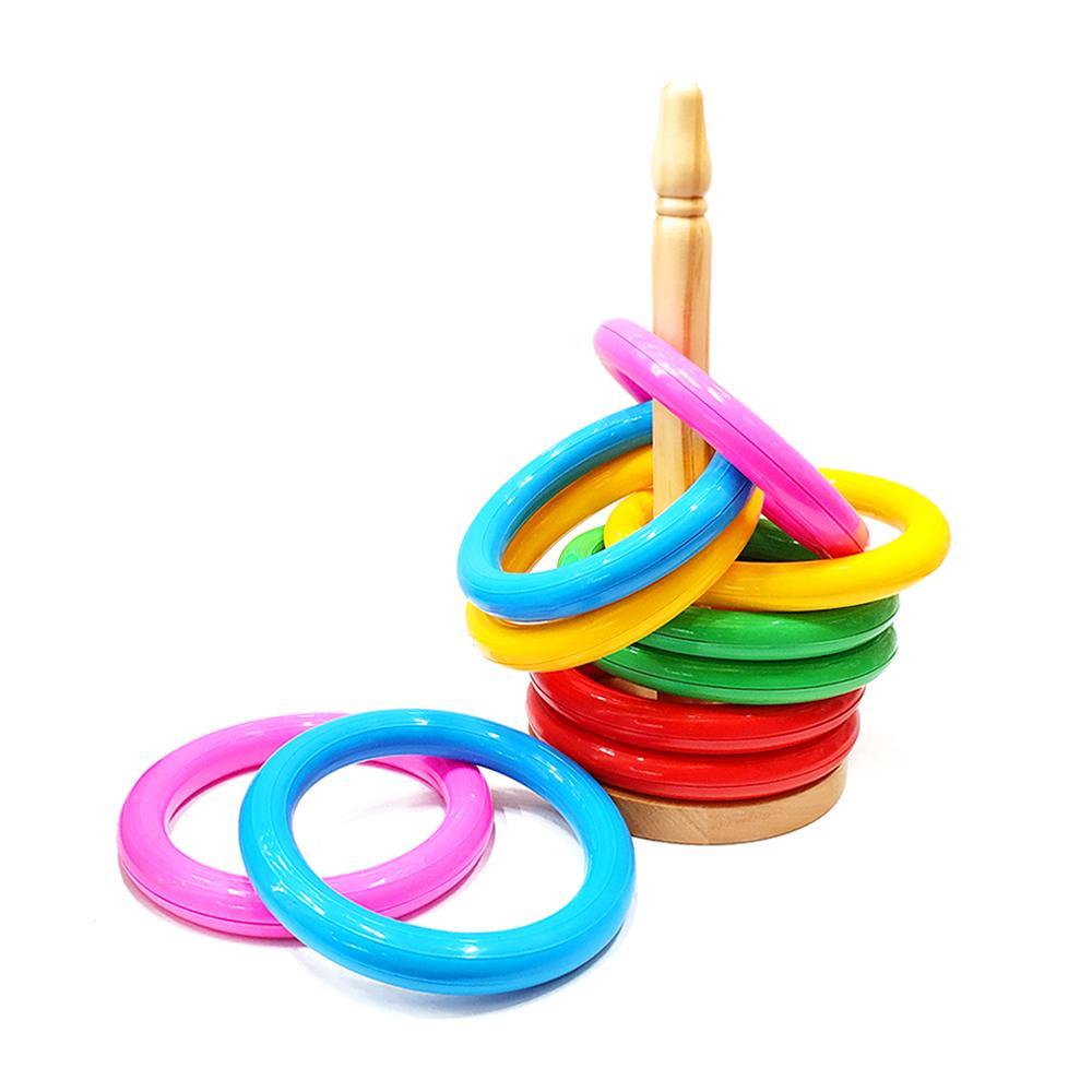 장난감 어린이 놀이 교구 원목 고리 던지기 아이 유아원 장난감 3살장난감 4살장난감 5살장난감