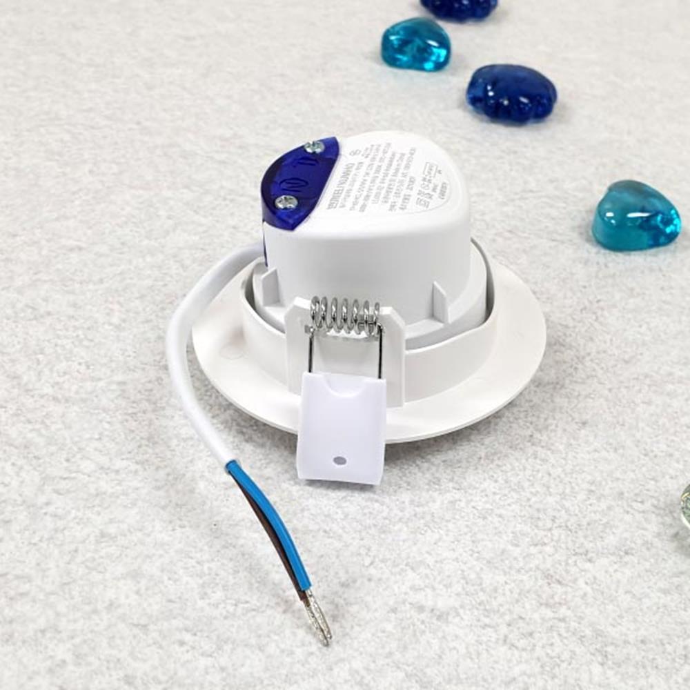 주광색 LED등 회전매입등 5W 전구 LED전구 가정용전구 LED조명 가정용전구 생활용품 현관센서등 전구